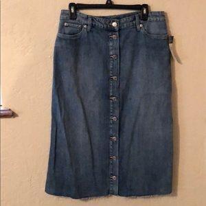 Ralph Lauren denim Jean skirt